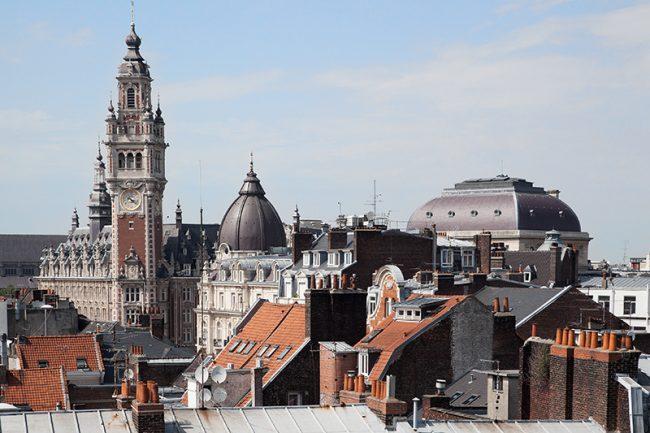 Lille - Centre ville Vue des toits © Thomas Karges