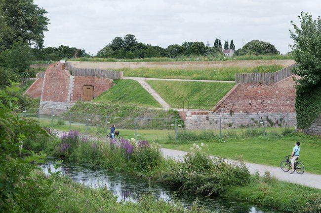 Lille - Citadelle La Contre-garde du Roy © Thomas Karges
