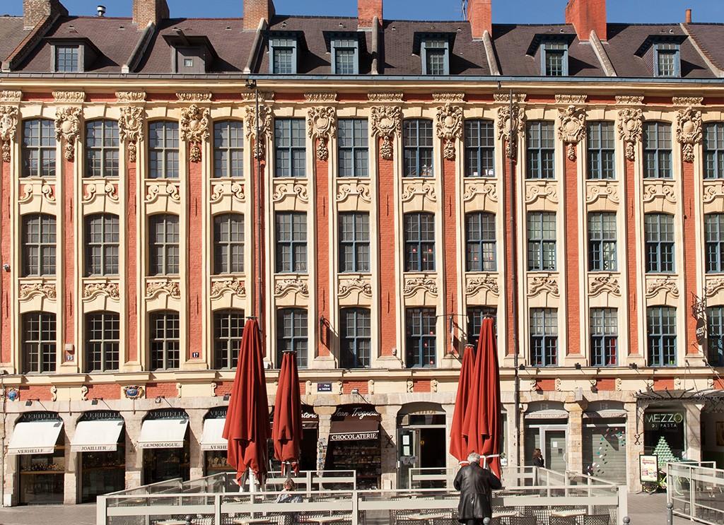Vieille bourse façade 1