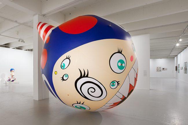 Takashi Murakami, Dob Balloon, Lille, Tri Postal, Lille 3000 ©Thomas Karges