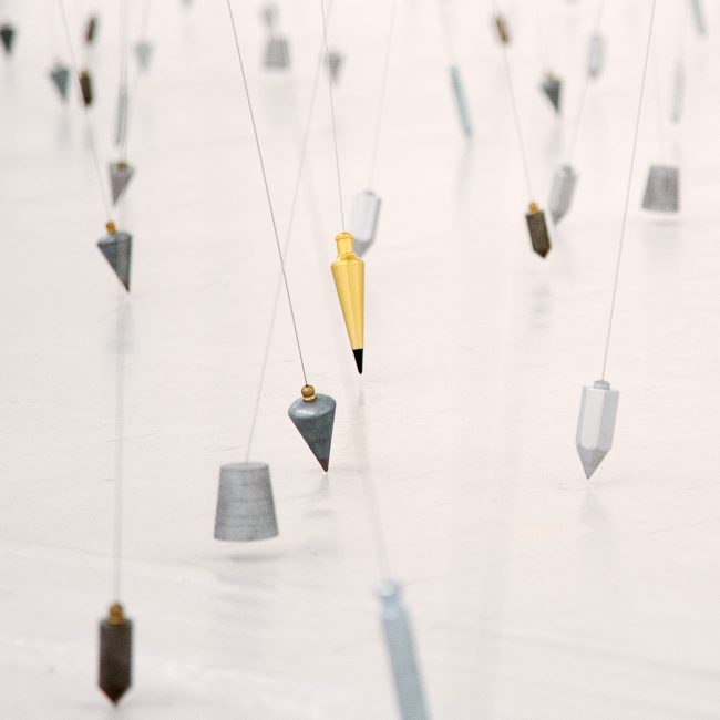 Tatiana Trouvé, 350 Points Towards Infinity, Lille, Tri Postal, Lille 3000 ©Thomas Karges
