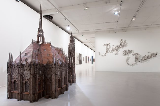 Wim Delvoye, Chapelle, Lille, Tri Postal, Lille 3000 ©Thomas Karges