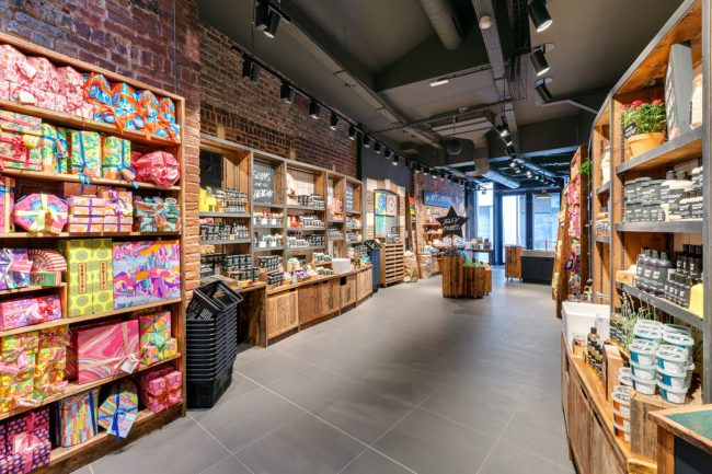 Photographie commerce magasin Lush Lille