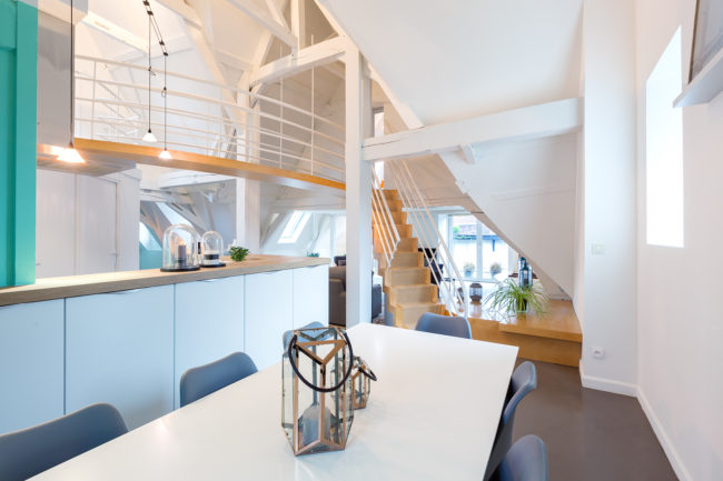 Photographie loft Lille immobilier