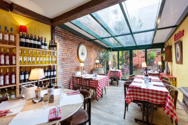 Photographie commerce restaurant Lille