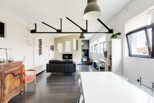 Photographie loft Roubaix immobilier